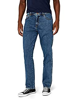 Wrangler - Texas Contrast - Jean - Homme - Bleu (Stonewash 010) - 32W / 30L (B000Y41NRG) | Amazon price tracker / tracking, Amazon price history charts, Amazon price watches, Amazon price drop alerts