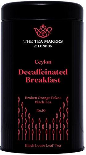 The Tea Makers of London Koffeinfreier scharzer Ceylon Tee BOP Tee von prämiertem Teekontor Geschenkidee, 1er Pack (1 x 125 g)