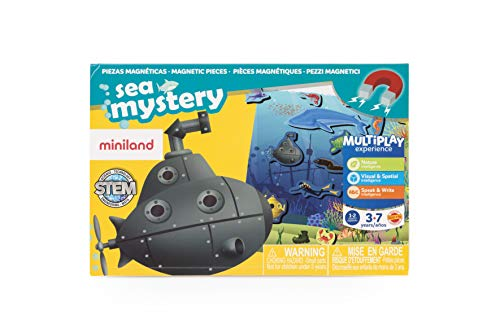 Miniland- On The Go: Sea Mistery Juego magnético para niños. (31973)