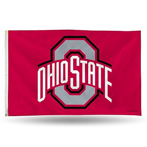Unbekannt NCAA Banner Flagge 3-Fuß von 5-Foot, Nylon, Ohio State Buckeyes, 3x5 Foot -