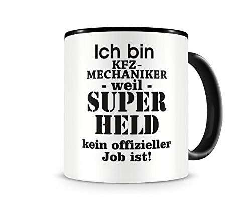 Samunshi Ich bin KFZ-Mechaniker Tasse Beruf Geschenk Kaffeetasse Teetasse Kaffeepott Kaffeebecher...