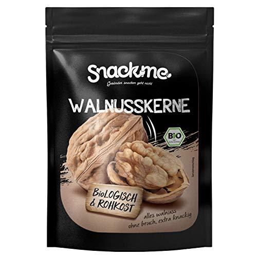 Bio Walnüsse Walnusskerne Walnuss-Hälften Frankreich Nüsse 500g süß Rohkost ohne Bruch unbehandelt ungesalzen ungeröstet naturbelassen