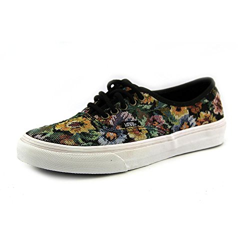 Vans Unisex Authentische dünne Schuhe in (Tapestry Blumen) Schwarz, EUR: 36.5, (Tapestry Floral) Black