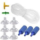 Venus Aqua 10 Feet Aquarium Air Tubing Air Pump Accessories with 3 Air