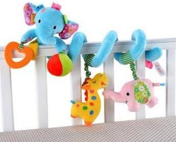 Stybelle Remorque de lit multi-fonction de de de jouet de bébé accrochant le lit rond pelucheux de lit de bébé de chevet de cloche autour du jouet | Magasiner  d47172