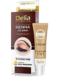 Delia Crème colorante pour les sourcils Chatain 30 ml