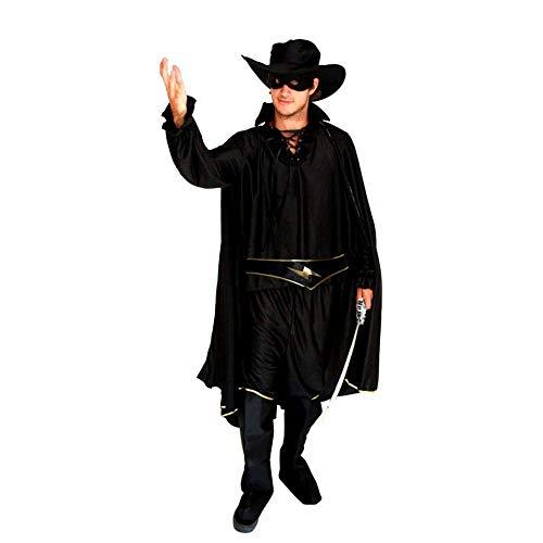 CN Halloween Cosplay Kostüm Erwachsene Maskerade Kostüme Zorro Masked Kostüme,Foto Farbe,Einheitsgröße (Für Von Fotos Halloween Kostüme Erwachsene)