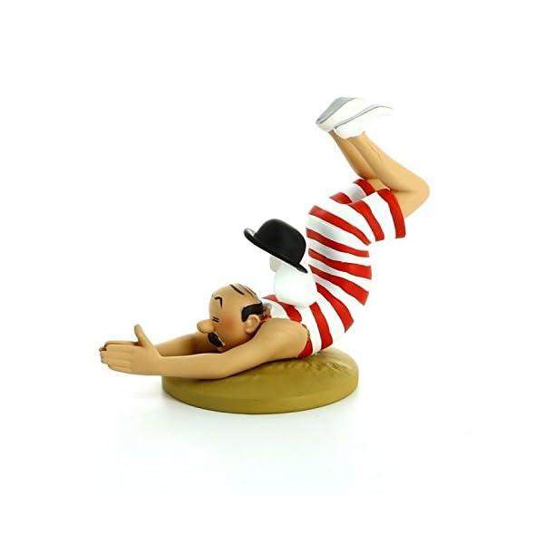 Figura de colección Tintín Hernández en bañador Moulinsart 42196 (2016) 1