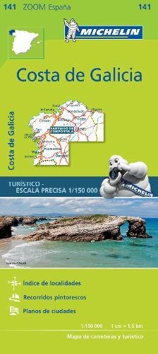 Costa de Galicia Zoom Map 141 (Mapas Zoom Michelin) por Vv.Aa