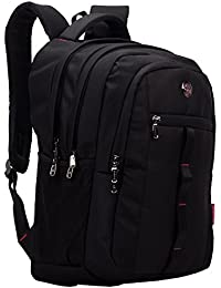 db978bc414ed COSMUS Polyester 33 Ltr Black School Backpack
