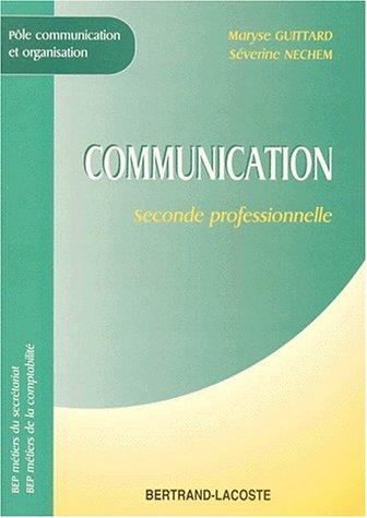 Communication, 2de, BEP