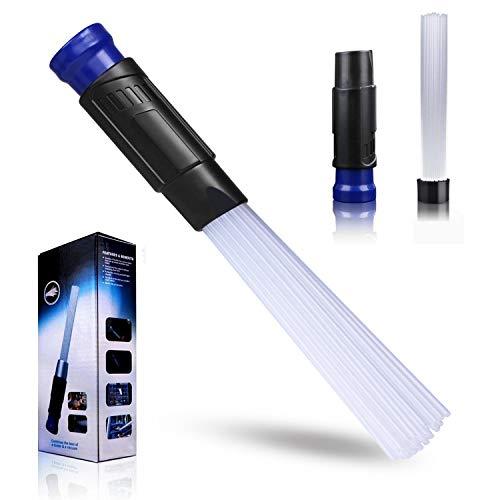 Dust Cleaner, Universal Dust Bürste Pinsel,Dust Staubsaugeraufsatz Pinsel Universal Staubsauger Pinsel AufsäTze ReinigungsbüRste für Tierhaare/LüFtung/Tastaturenn