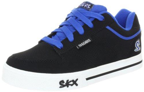 Skechers Vert Ii-K, Baskets mode garçon Noir (Bkry)