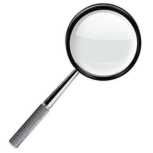 Sehhilfen Lupe 30X High Definition Handheld Lupe Metallrahmen Senioren Lesen Schmuck Identifikation Wartung Schreibwaren Bürobedarf HD lesen