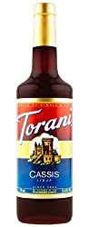 Torani Black Currant Syrup, 750 Ml Black Current