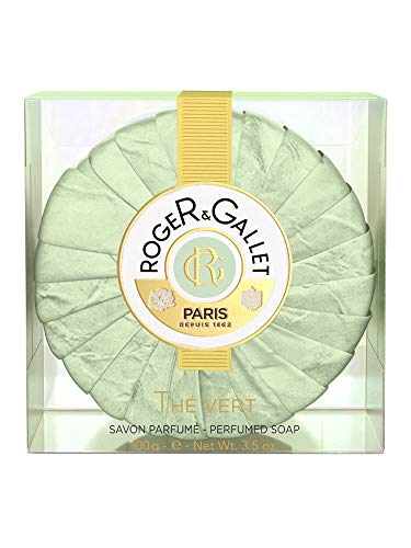 ROGER & GALLET Thé Vert Seife Kartonbox 100g - Gallet Perfumed Soap