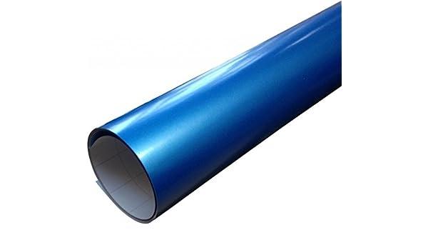 Blau Glanz Glänzend Car Wrap Autofolie Folie 152cm X 50cm Luftblase Frei Auto
