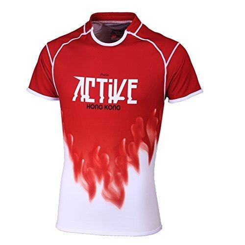 ACTIVE Donne sportive abbigliamento body fit corta