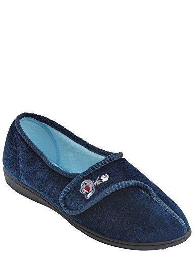 Chums , Chaussons pour femme couleur Bleu Marine