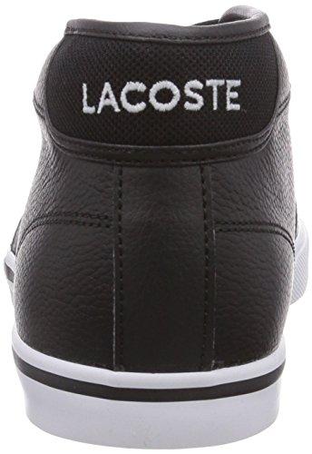 Lacoste Ampthill Lcr, Baskets Homme Noir (Blk/Blk 02H)