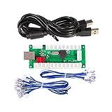 iGames CERO Retraso Arcade USB Codificador A PC Joystick para ARCADE JUEGOS Mame & Raspberry Pi retropie proyectos