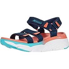 Skechers 140120-nvmt_35, Women's outdoor sandals, Navy Multi, 2 UK (35 EU)