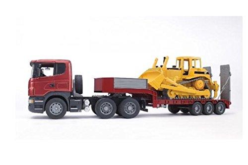 Image of Bruder Scania R-Series Low Loader Truck