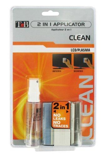 T'nB NLCDGEL02 Kit de nettoyage pour écran plat LCD/Plasma