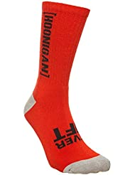 Calcetines Hoonigan Never Lift Neon Rojo (Default , Rojo)