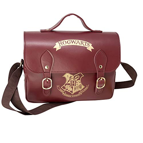Harry Potter Lunch Bag Hogwarts Satchel Style Borse