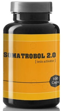 SOMATROBOL 2.0 - JETZT MIT 100 KAPSELN - MUSKELAUFBAU UND FETTABBAU