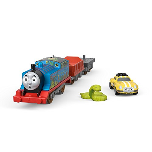 Thomas & Friends FJK55 Thomas and Ace the Racer, Thomas the Tank Engine, Toy Engine, Big World, Big Adventure, Movie Toy Train, 3 Year Old