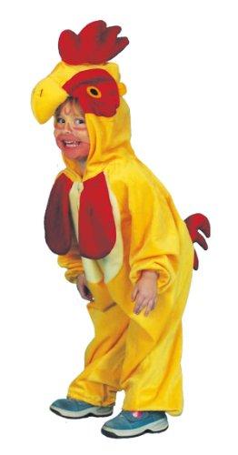 (Orlob Hahn Kinder Kostüm als Vogel zu Karneval Fasching Größe 116/128)
