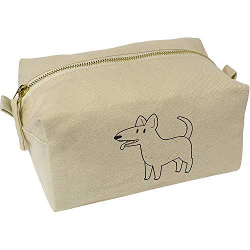 Azeeda 'Bull Terrier' Wasch/Make-up Tasche (CS00007105)
