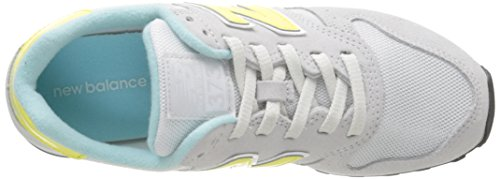 New Balance 487651 50, Baskets Basses Femme Gris (Grey/030)
