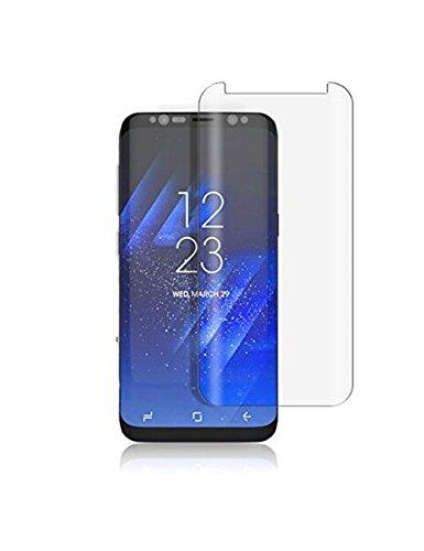 NOVAGO Protector para Samsung Galaxy S8 de cristal templado anti caída y choque pequeño, cubre la totalidad de la pantalla del Samsung Galaxy S8