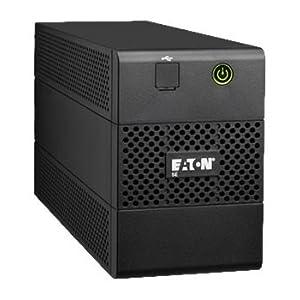 Eaton 5E650iUSB Line-Interactive 650VA 4AC outlet(s) Tower Black uninterruptible power supply (UPS) - Uninterruptible Power Supplies (UPSs) (650 VA, 360 W, 170 V, 280 V, C13 coupler, C13 coupler)