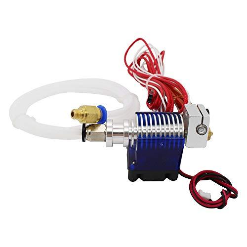 Druckerzubehör Highall-Metall V6 Hotend 12V / 24V Remote Bowen Print J-Kopf Hotend und Lüfter Halterung for E3D HOTEND -
