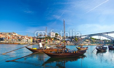 alu-dibond-bild-120-x-70-cm-ancient-boat-in-oporto-in-which-was-used-to-transport-the-port-bild-auf-