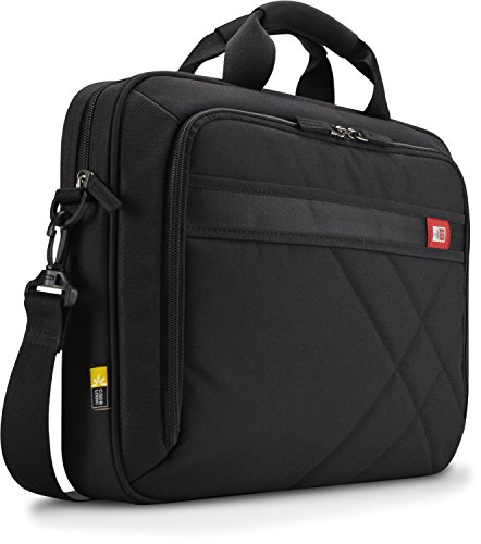 "Case Logic DLC117 Sacoche en nylon pour Ordinateur portable 17,3"" + Tablette pc 10,1"" Noir"