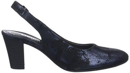 Gabor Shoes Damen Comfort Sling Back Blau (ocean 86)