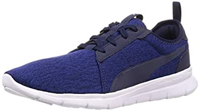 Puma Unisex Adult Flex Fresh Mesh Peacoat-Galaxy Blue Running Shoes-6 UK (39 EU) (7 US) (37051203_6)