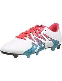 adidas X 15.3 Fg/ag W, Botas de Fútbol Para Mujer