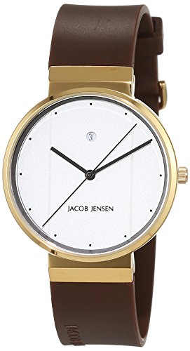 jacob-jensen-new-series-unisex-quartz-watch-with-black-dial-analogue-display-quartz-rubber-item-no-7