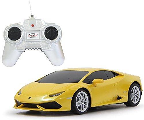 RC Lamborghini Huracan - ferngesteuert inkl. Fernbedienung - RTR (wählen Sie Farbe & Maßstab) (1:24 - gelb)