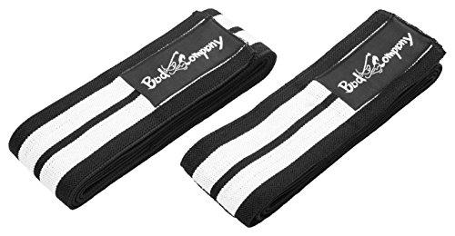 Pro Kniebandagen Bandagen Powerlifting 2er Set (1 Paar) BC-89