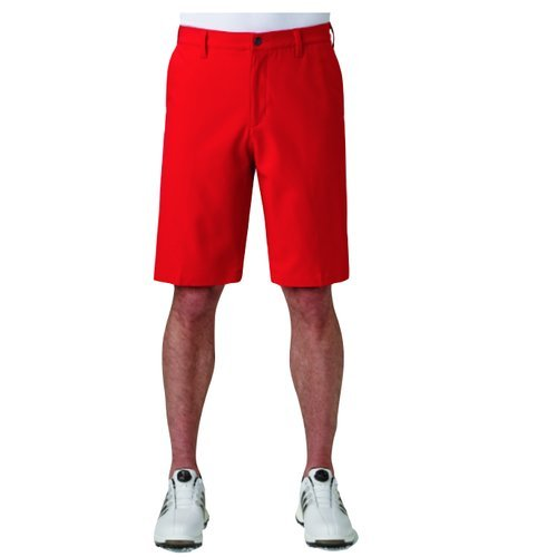 Adidas Golf 2017 Ultimate Classic Woven Shorts Performance Mens Golf Funky Shorts Scarlet 32
