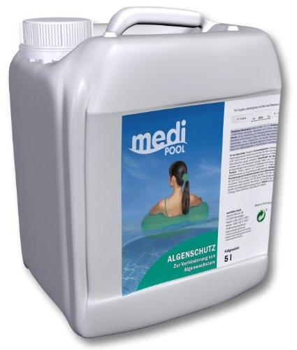 Medipool Schwimmbadpflege Algenschutz, 5 Liter