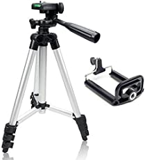 Aeylight 3110 40.2 Inch Portable Camera Tripod with 3D Head and Quick Release Plate for Canon Nikon Sony Cameras Camcorders (Black, t1)
