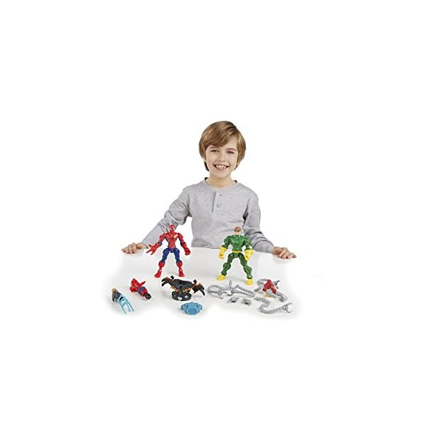 Marvel Super Hero Mashers Spider-Man vs. Doc Ock Mash Pack 3